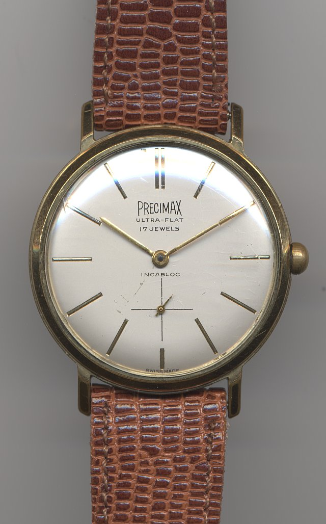 Precimax Ultra-Flat gents watch