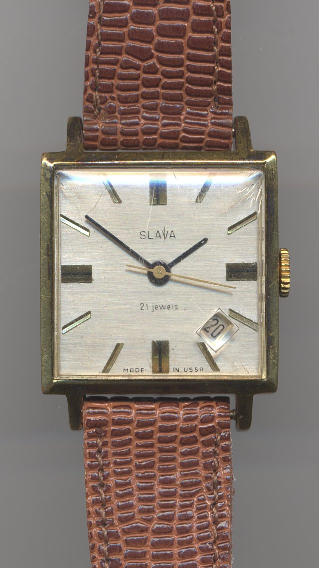 Slava gents' watch