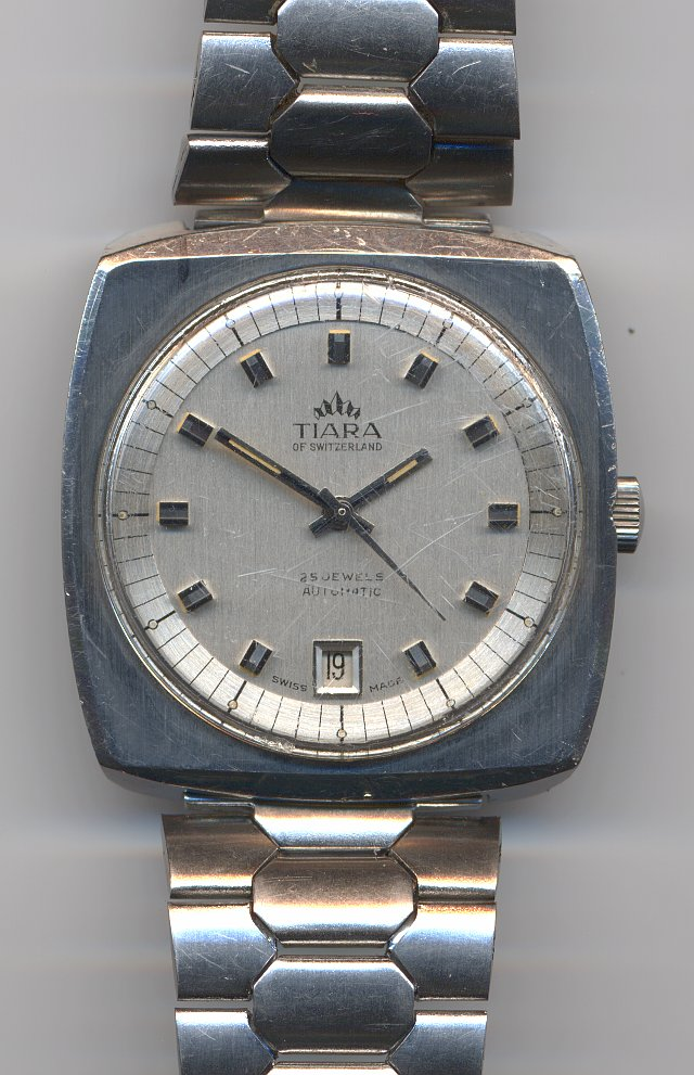 Tiara of Switzerland gents watch