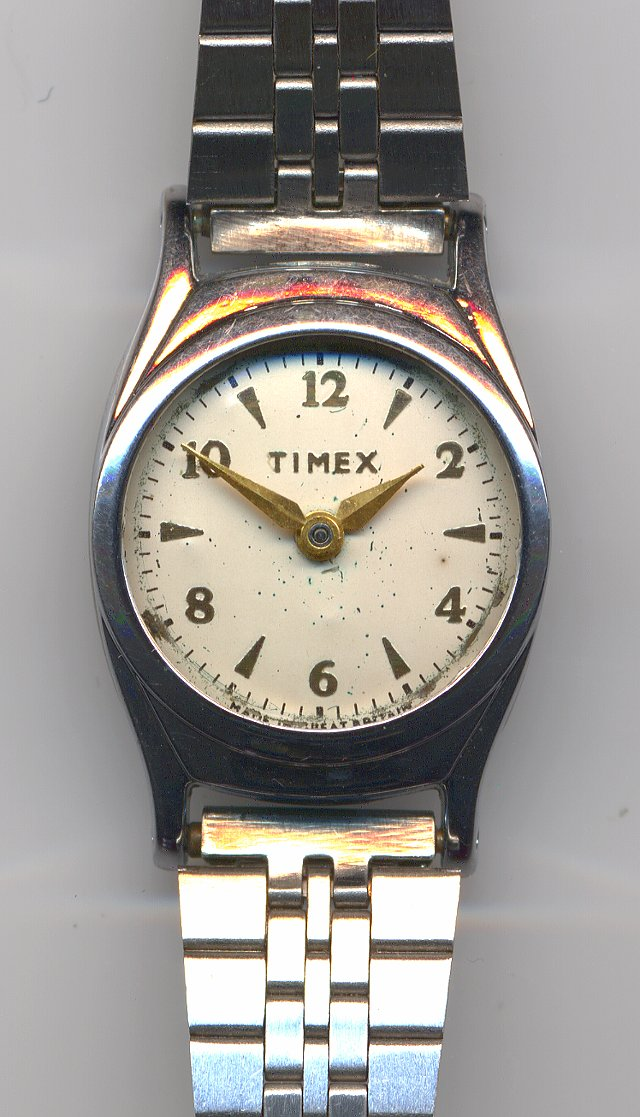 Timex ladies' watch, model 1010, made in 1961