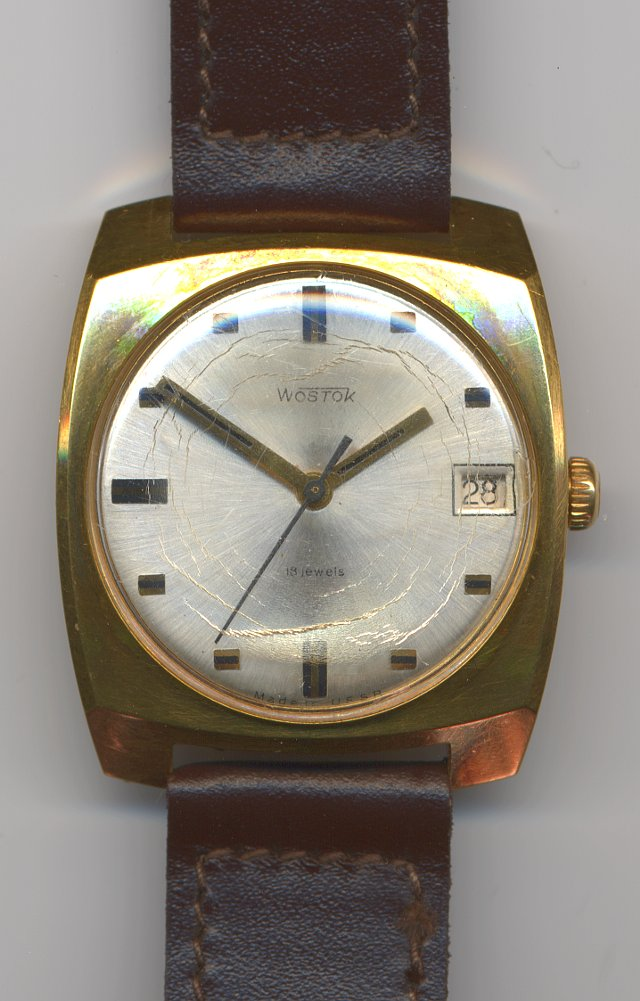 Wostok gents watch